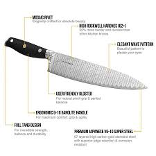 vg10 kitchen knives japanese chef knife stainless steel 8 inch kitchen knife