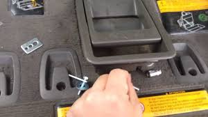 toyota sienna 3rd row handle quick fix 2011 youtube