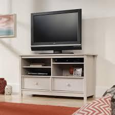Entertainment Center Credenza Sauder Original Cottage Cobblestone Entertainment Credenza For Tvs