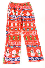 Womens Christmas Print Pajama Pants By No Brand  Village Discount