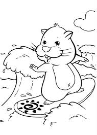 zhu zhu pets surfing wave coloring pages batch coloring