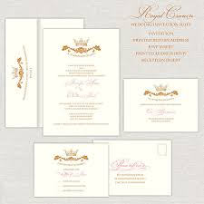 royal wedding invitation royal wedding invitations gold pink wedding invitation