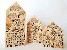 city life wooden houses painted wooden houses wooden home