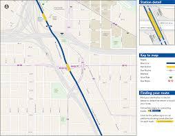 Metro Transit Map by Franklin Avenue Station Map Metro Transit