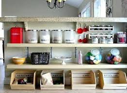 kitchen organizing ideas kitchen counter shelves free standing shelf medium size of wall