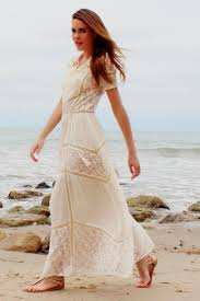 maxi dresses for weddings lace maxi dress would make a casual bohemian wedding dress