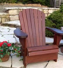 Redwood Adirondack Chair Redwood Adirondack Chairs Forever Titan Solid Ipe Walnut