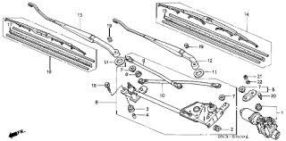 2000 honda accord lx parts honda store 2000 accord front windshield wiper parts