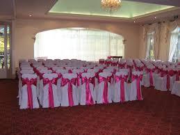 dining room setup pink sash 2