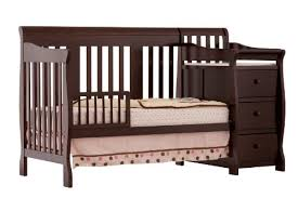 Changing Table Crib 3 Convertible Baby Cribs With Attached Changing Tables