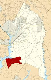 Zip Code Map Washington by Accokeek Maryland Wikipedia