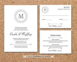 wedding invitations with response cards editable wedding invitation rsvp card and insert card classic