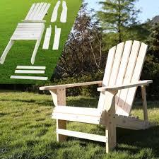songsen outdoor wood adirondack chair oasap com