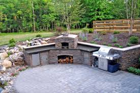Patio Kitchen Islands Patio Idea Outdoor Kitchen Island Pond Waterfall