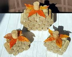 Fall Wedding Centerpieces Rustic Fall Decor Pumpkin Decor Fall Wedding Decor Cork
