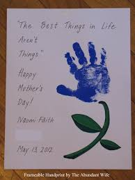happy mother u0027s day diy handprint flowers the abundant wife
