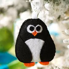 felt penguin ornament pictures photos and images for