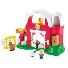 Little Tikes Barn Little People Fun Sounds Farm Play Set Walmart Com