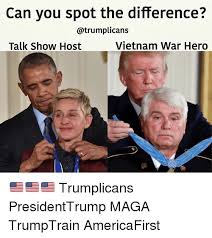 can you spot the difference talk show host vietnam war hero