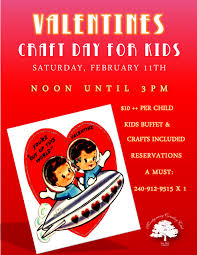 valentine u0027s craft day for the kids montgomery country club