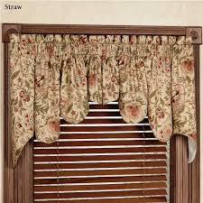 Patterns For Curtain Valances Kitchen Curtain Valance Patterns For Bay Windows With Waverly