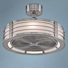 brette 23 in led indoor outdoor brushed nickel ceiling fan 23 fanimation beckwith brushed nickel ceiling fan glass lights