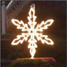 Lighted Snowflakes Outdoor by 36