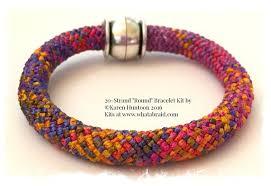 bracelet braid kit images Kumihimo bracelet kit 20 strand quot round quot bracelet kit jpg