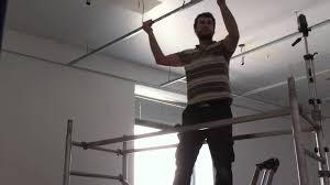 faux plafond led plafond suspendu en dalles de 60 x 60 youtube