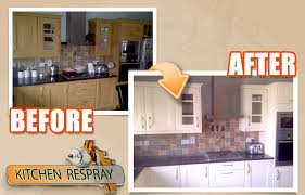 how much does it cost to respray kitchen cabinets kitchen respray kitchen resurfacing ireland