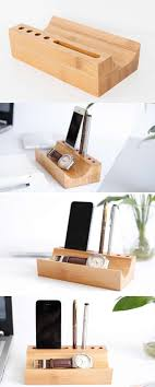 telephone stand desk organizer 18 best handyhalter images on pinterest phone holder wood