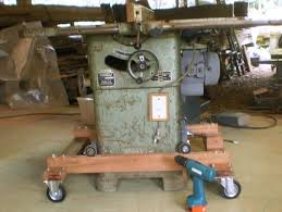 table saw mobile base peter sibley s heavey duty mobile table saw base