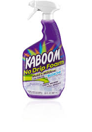 best bathroom cleaner for mold and mildew kaboom no drip foam mold mildew stain remover with bleach kaboom