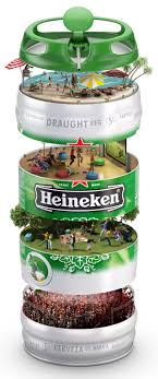 cuisine en 駲uilibre heineken keg by ricardo tohme via behance favourite ads