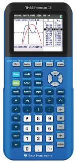 calculatrice graphique bureau en gros instruments ti 83 premium ce bleue calculatrice graphique