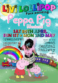 peppa pig weekend face painting leicester london