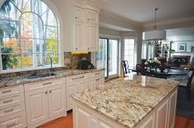 Baltic Brown Granite Countertops With Light Tan Backsplash by H Green Baltic Brown Granite Kitchen Countertop Granix Kitchens