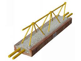 travetto tralicciato tralicciato per solaio in cemento armato travetto bausta by