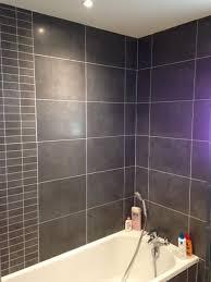 hauteur de cr ence cuisine salle de bain faience grise carrelage mural et fa ence pour bains cr