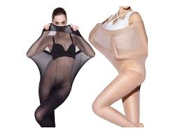 website advertises plus size tights in the worst way possible