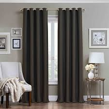 Charcoal Grey Blackout Curtains Top 5 Best Charcoal Grey Curtains For Sale 2016 Product Boomsbeat