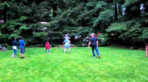 2011 neil birthday kids playing soccer in the backyard youtube