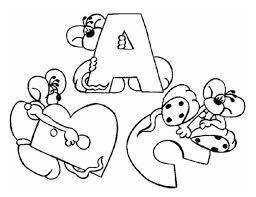 alphabet coloring pages printable abc letters alphabet coloring