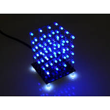 led cubes hobby components 4x4x4 64 led cube kit available in various