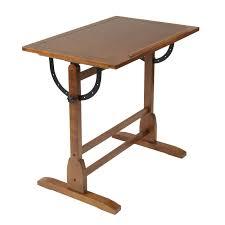 Drafting Table Design Studio Designs 36 Vintage Drafting Table Color Rustic Oak 13304