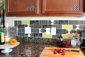 How To Do Backsplash Tile In Kitchen by 13 Removable Kitchen Backsplash Ideas