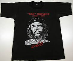 che guevara t shirt vintage che guevara t shirt 1926 1967 black sz medium