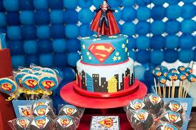 Superman Birthday Party Decoration Ideas Kara U0027s Party Ideas Superman Themed Birthday Party With So Many