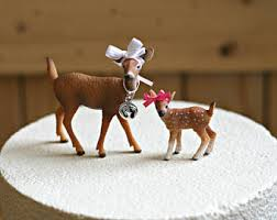 deer cake topper deer cake topper etsy