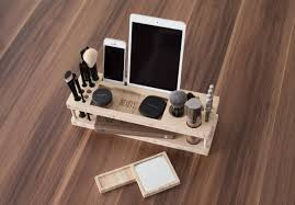 taylor beauty station daily make up organizer with mirror